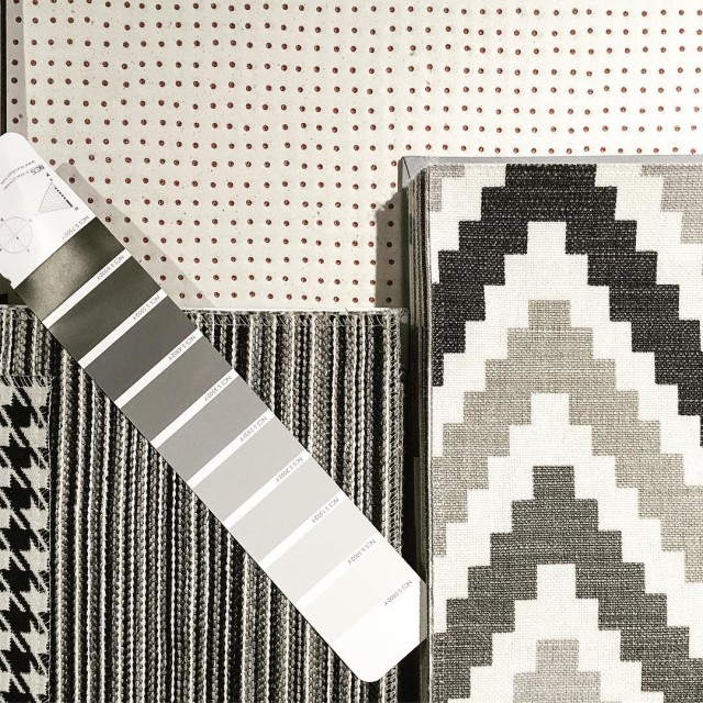 Interior moodboard for a bedroom design by pilkelab with vibointeriordesignstudio