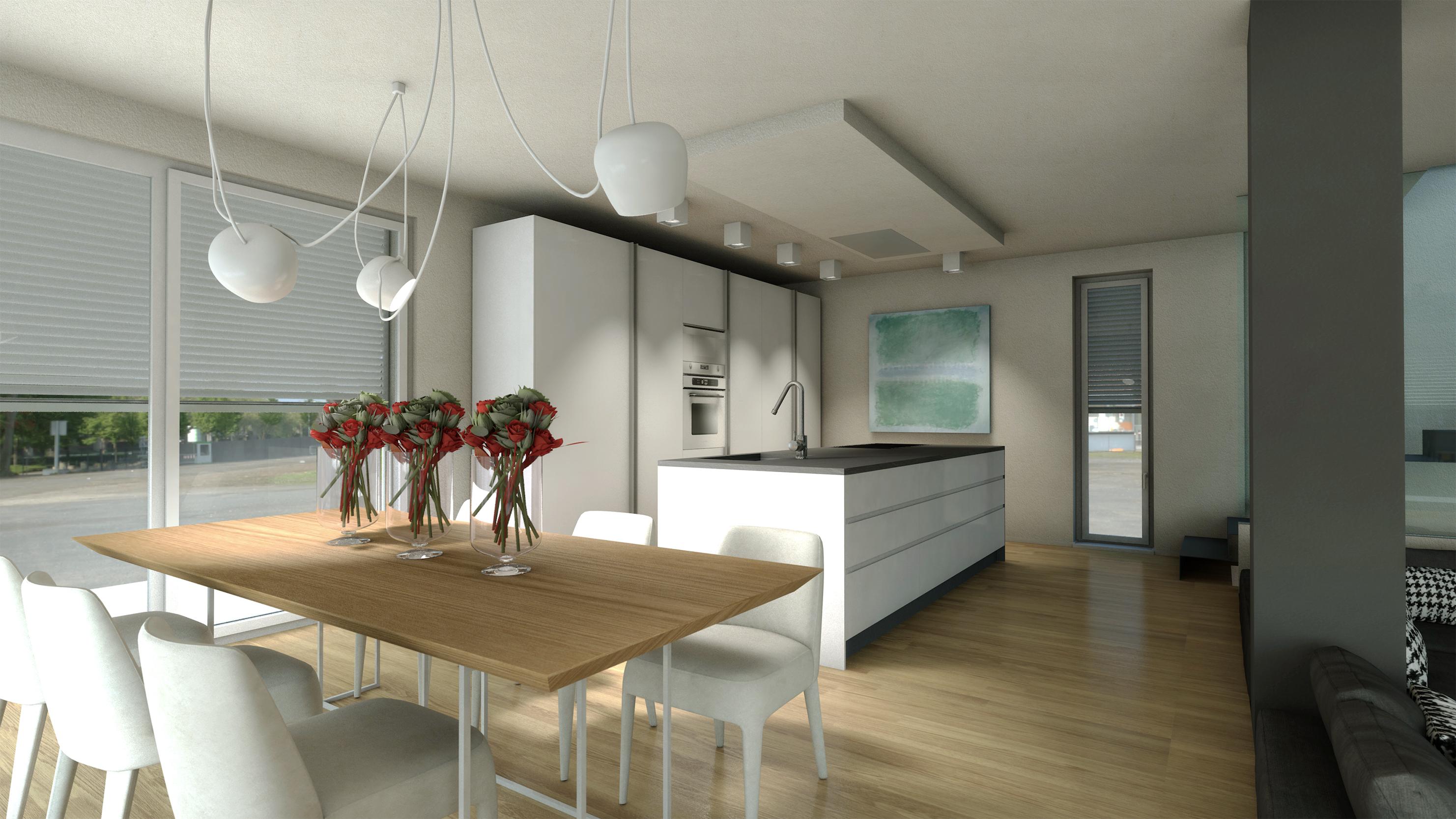 Interni villa duplex bc progettazione integrata di for Design interni